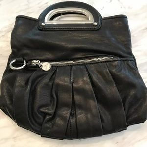 Auth Gustto Italian Leather convertible clutch